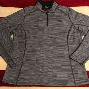 Women's NorthFace front 1/4 zipper Pullover